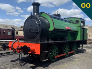 "16"" Hunslet Saddle Tank"
